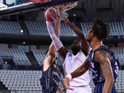 Basket, Serie A: la Virtus Roma imbriglia la Fortitudo Bologna e conquista la vittoria