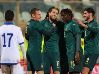 Calcio, l'Italia batte l'Islanda 2-1: la doppietta di Pobega avvicina la qualificazione agli Europei Under 21