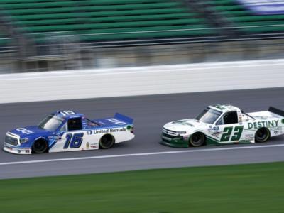 NASCAR Truck Series, Austin Hill si impone a Las Vegas