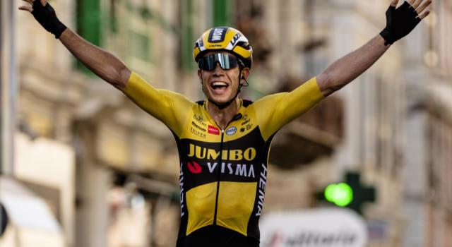Ciclismo: Wout van Aert vicino al rinnovo del contratto con la Jumbo-Visma