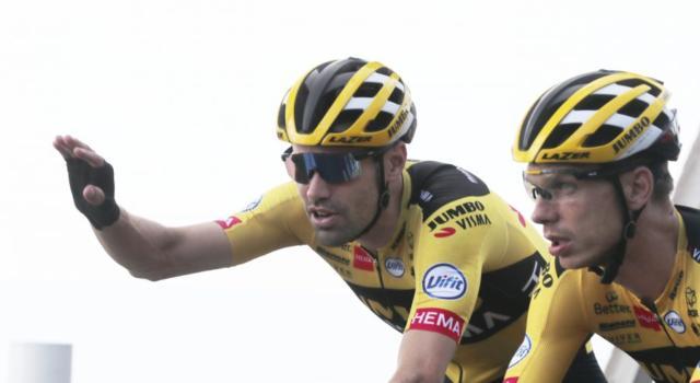 Vuelta a España 2020, Tom Dumoulin conferma che ci sarà anche Primoz Roglic