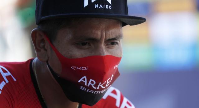 """Nairo Quintana: """"Sono un corridore pulito. Non hanno trovato doping e non sono accusato"""""""