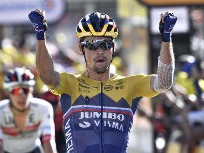 """Tour de France 2020, Primoz Roglic: """"I miei compagni hanno fatto un grandissimo lavoro. Miglioro giorno dopo giorno"""""""