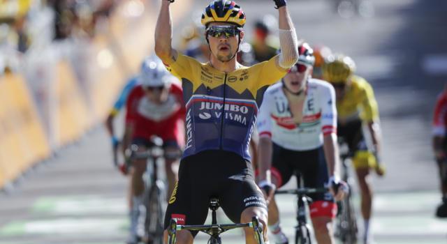 """Classifica Vuelta a España 2020, prima tappa: Primoz Roglic maglia rossa, Carapaz a 5"""". Dumoulin, Froome, Valverde sprofondano"""