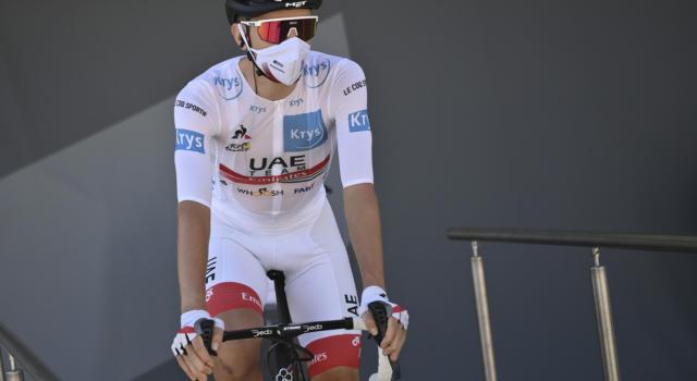 Ordine d'arrivo Tour de France, risultato ventesima tappa: a Tadej Pogacar frazione e Maglia Gialla