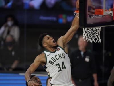 NBA: Giannis Antetokounmpo MVP della regular season 2019-2020. Per il greco seconda volta consecutiva