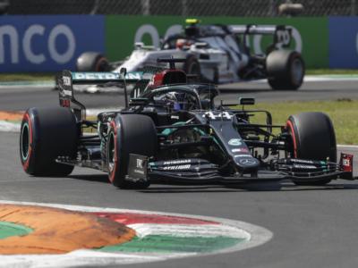 F1, la griglia di partenza di oggi a Monza: Mercedes in prima fila, la Ferrari deve rimontare