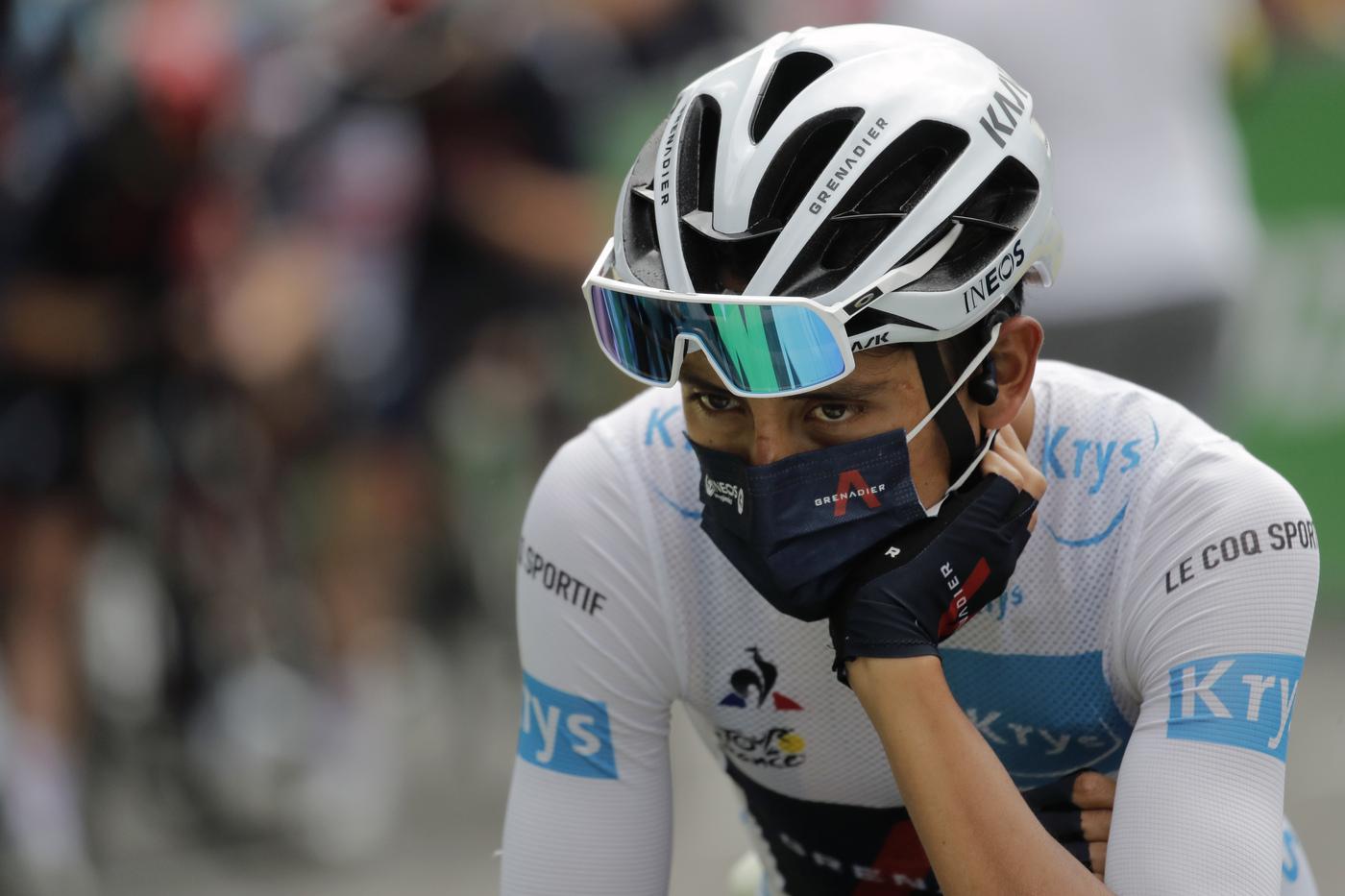 Ciclismo, Egan Bernal e gli esercizi per risolvere la scoliosi alla schiena