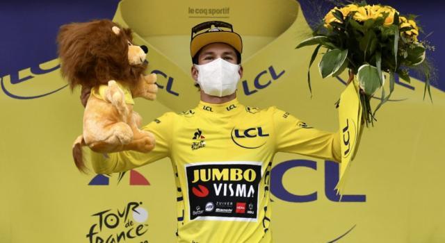 """Tour de France 2020, Primoz Roglic: """"Siamo solo all'inizio, ci sono ancora tante tappe impegnative da affrontare"""""""