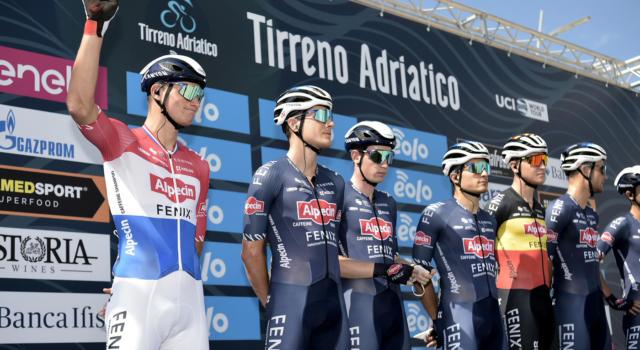 """Tirreno-Adriatico 2020, Mathieu van der Poel: """"Finalmente ho trovato la gamba"""""""