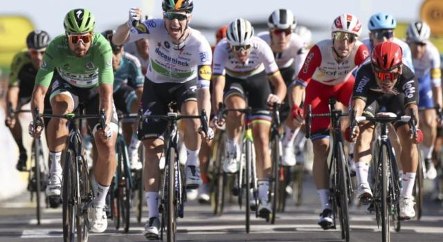 Tour de France 2020, segnali di ripresa per Elia Viviani. Un quarto posto che fa morale
