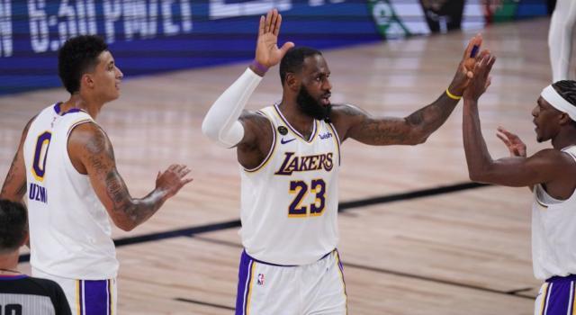 NBA Playoff 2020: i Los Angeles Lakers battono ancora gli Houston Rockets e volano sul 3-1