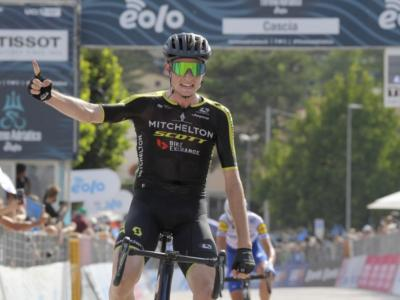 VIDEO Tirreno-Adriatico 2020, quarta tappa: Lucas Hamilton batte in volata Fausto Masnada