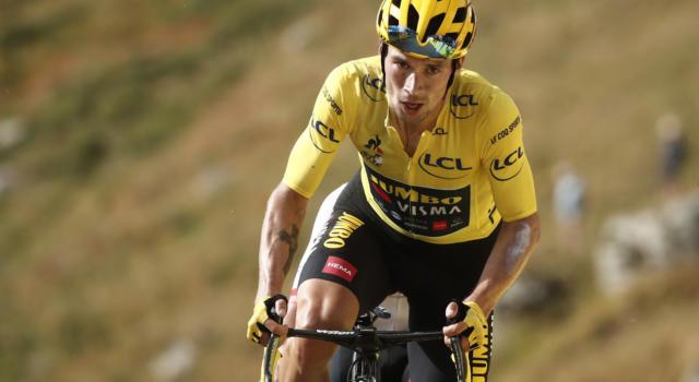 """Classifica Tour de France 2020, quattordicesima tappa: Roglic maglia gialla, 44"""" su Pogacar. Bernal a 59"""""""