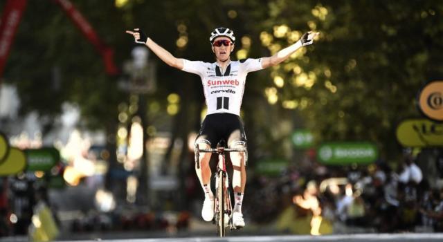 Ordine d'arrivo Tour de France, risultato 19ma tappa: Soren Kragh Andersen si impone, Matteo Trentin 10°