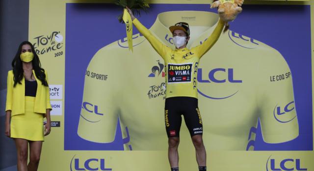 """Classifica Tour de France 2020, quindicesima tappa: Roglic domina, 40"""" su Pogacar. Bernal e Quintana in crisi nera"""