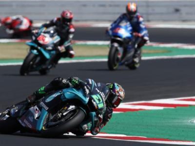 DIRETTA MotoGP, GP Portogallo: la classifica dei tempi. Valentino Rossi cade ancora