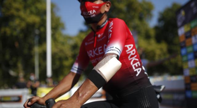 """Tour de France 2020, Nairo Quintana: """"Sapevo che sarebbe stato difficile, ho pagato la caduta"""""""