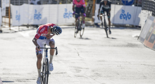 Pagelle Tirreno-Adriatico 2020, settima tappa: Mathieu van der Poel perfetto, Matteo Fabbro quasi
