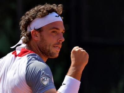 """Tennis, Marco Cecchinato: """"Sono contentissimo e domani voglio giocarmi al meglio la finale"""""""
