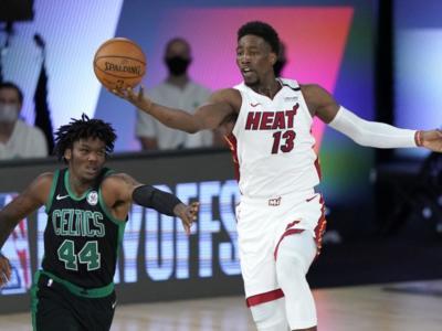 NBA, Playoff 2020: Dragic, Adebayo e rimonta, Miami Heat sul 2-0 con i Boston Celtics