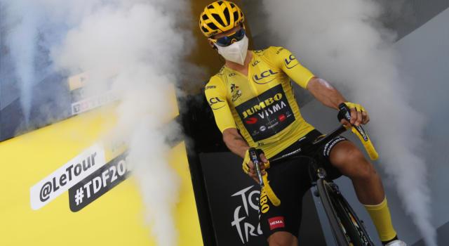 Tour de France 2020, tutte le classifiche e le maglie dopo la 18esima tappa: Roglic resta in giallo, Carapaz sfila la pois a Pogacar