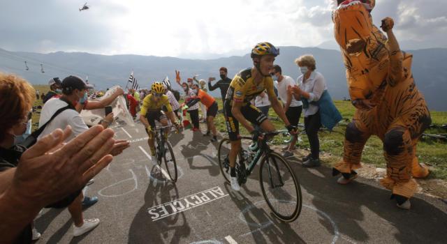 Tour de France 2020: l'errore tattico della Jumbo-Visma. Primoz Roglic lascia andare Kuss, poi se ne pente