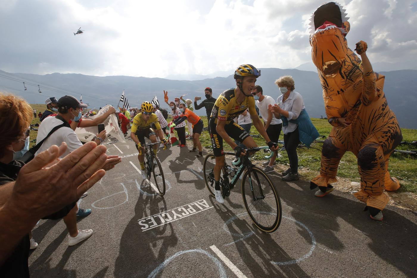 """Ciclismo, Sepp Kuss: """"Nel 2020 vorrei correre da capitano alla Volta a Catalunya, al Giro dei Paesi Baschi e alla Vuelta"""""""