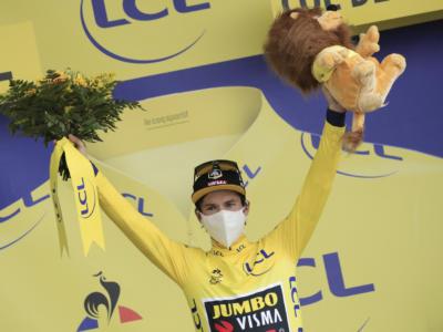 """Classifica Tour de France 2020, 18ma tappa: Primoz Roglic ipoteca la vittoria, Pogacar a 57"""". Damiano Caruso sogna la top-10"""