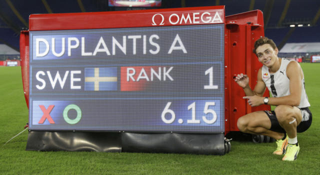 Golden Gala 2020. Duplantis 6.15 mondiale, Warholm super 47.07, Crippa record italiano. Tortu 10.09, Tamberi 2°