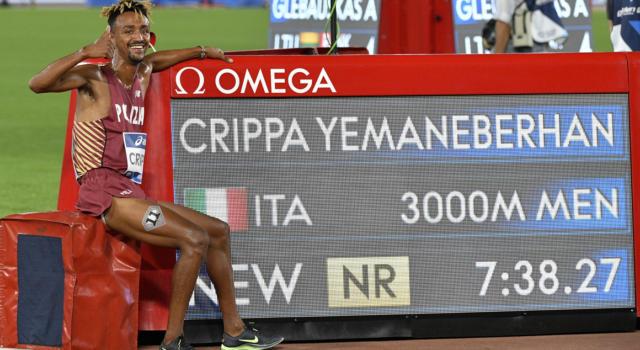 VIDEO Yeman Crippa record italiano 3000 metri: show dell'azzurro al Golden Gala