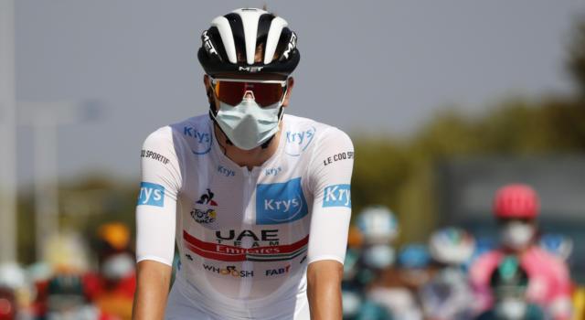 Pagelle Tour de France 2020, ventesima tappa: Tadej Pogacar è un campionissimo. Lacrime Roglic, a picco Lopez. Damiano Caruso eccellente