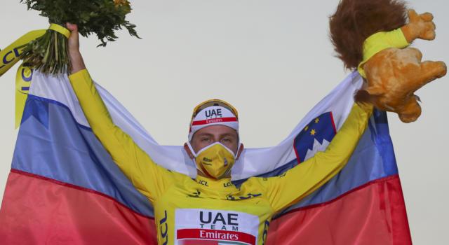 Ciclismo, Mondiali 2020: Tadej Pogacar ha cercato il bis dopo il Tour de France. Attacco coraggioso, ma la benzina è finita