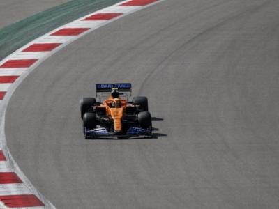 """F1, Lando Norris: """"Abbiamo fatto dei test aerodinamici"""""""