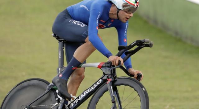 """Filippo Ganna: """"Che felicità! La maglia iridata ha un peso, ora andrò al Giro d'Italia. Sarà difficile dormire"""""""