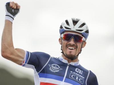 Pagelle Mondiali ciclismo 2020: Julian Alaphilippe perfetto, van Aert perde l'attimo. Nibali ci prova