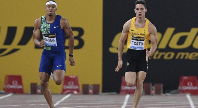 Golden Gala 2020, Filippo Tortu firma 10.09 sui 100 metri: terzo davanti a Jacobs. Simbine vince in 9.96