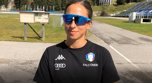 """Biathlon, Lisa Vittozzi: """"Meglio gare a porte chiuse che la paura dei contagi. Sono molto fiduciosa"""""""