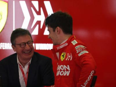 """F1, Louis Camilleri: """"Piena fiducia in Binotto. Prima in Ferrari c'erano le porte girevoli"""""""