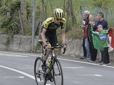 """Tirreno-Adriatico 2020, Lucas Hamilton: """"Sono stato fortunato ad attaccare insieme a Masnada, da solo non ce l'avrei fatta"""""""