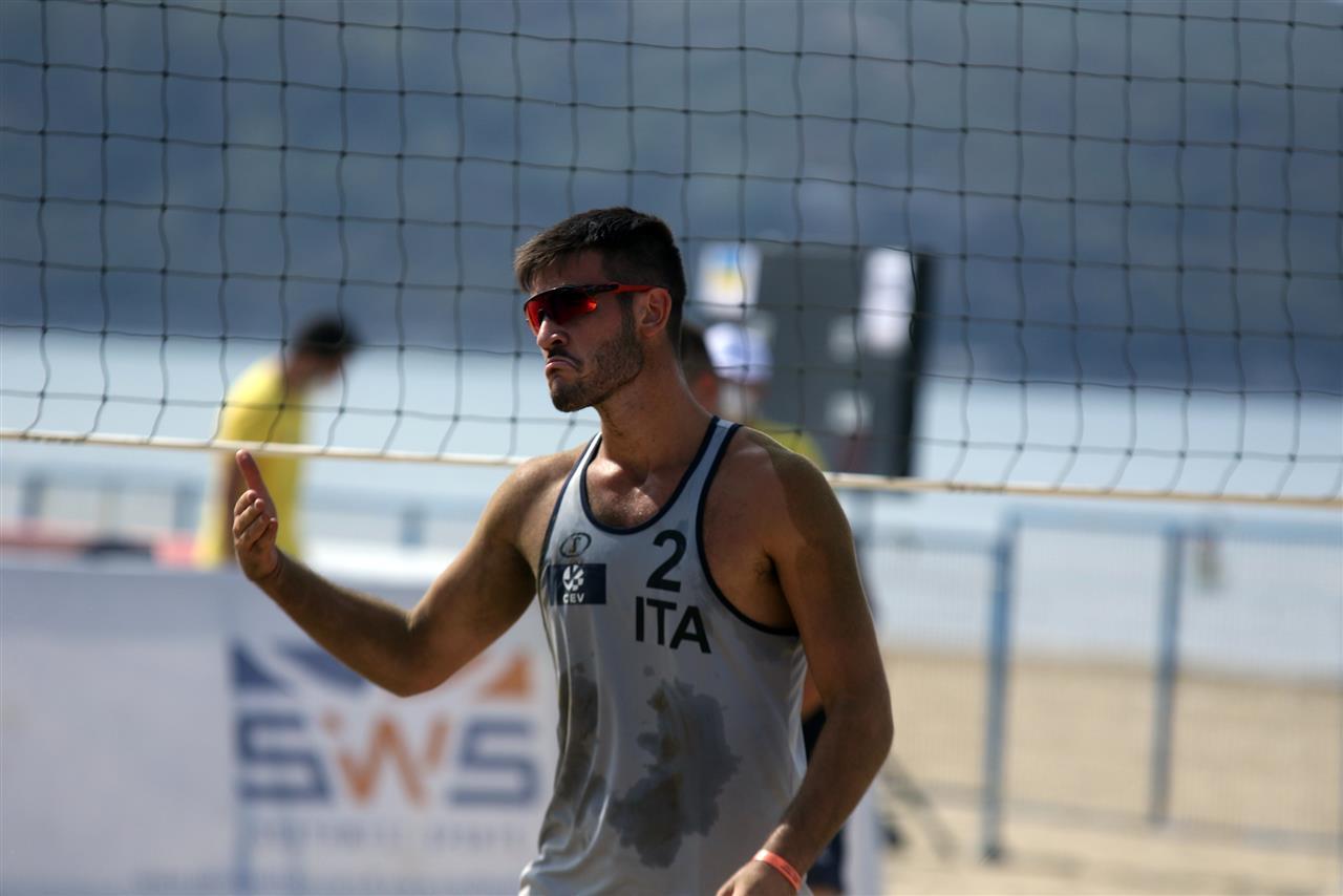 Beach volley, Europei Under 22 Baden. Marchetto/Dal Corso e Scampoli/Gottardi outsider di lusso
