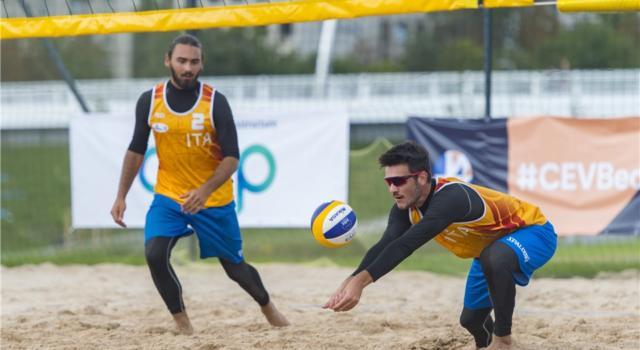 Beach volley, World Tour 2020 Vilnius. Che bravi i giovani azzurri: è semifinale per le due coppie italiane!