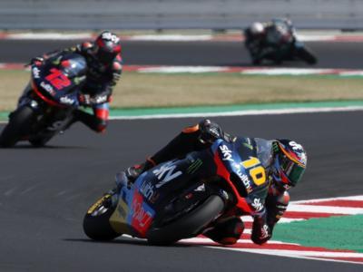 LIVE Moto2, GP Emilia Romagna 2020 in DIRETTA: Luca Marini sigla il record del tracciato e svetta nella FP2