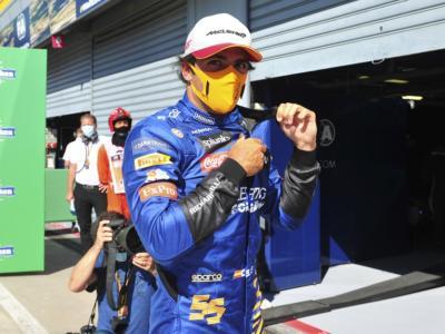 """F1, Carlos Sainz: """"Per come si è messa, sono un po' deluso. Comunque è un grandissimo risultato di cui dobbiamo essere fieri"""""""