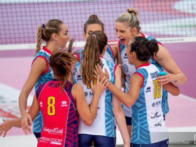 Volley femminile, Scandicci si qualifica alla Champions League! Travolto lo Yuzhny, quarta squadra italiana ai gironi