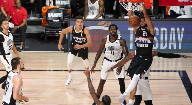 NBA Playoff 2020: Denver completa la rimonta sui Clippers, Adebayo stoppa Boston in gara-1