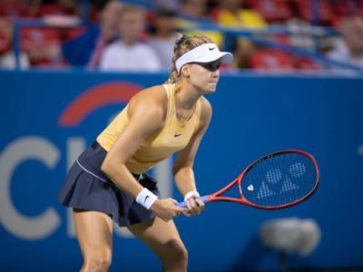 WTA Guadalajara 2021, i risultati dell'11 marzo. Eugenie Bouchard in semifinale