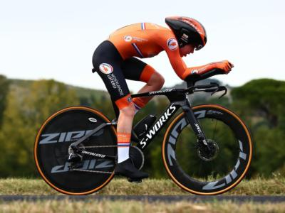 Ciclismo, Mondiali Imola 2020: van der Breggen vince la crono iridata. 10ma Bussi, brutta caduta per la campionessa uscente Dygert