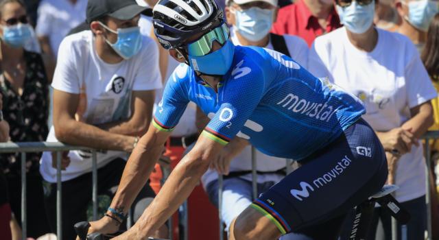 """Vuelta a España 2020, Alejandro Valverde: """"Non puntavamo alla vittoria di tappa, mi sono pentito di non aver rimontato Woods"""""""