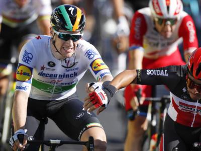 Vuelta a España 2020, Sam Bennett declassato! Vittoria a Pascal Ackermann, quinto Mareczko